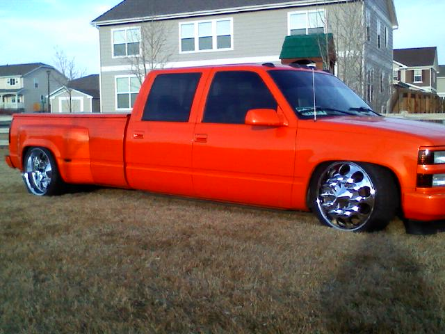 Christopher Gonzales 97 Chevy C3500