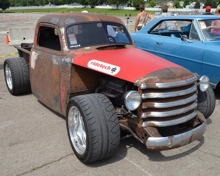 Tyler Gibson\'s 47 Chevy Pickup