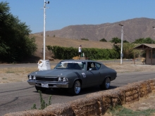 Tom Allred\'s Chevelle with Ridetech coilovers (front and rear)