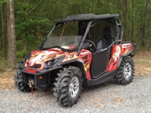 CanAm with ShockWaves