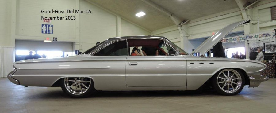 Wally Myers\' 61 Buick Invicta on RideTech Air Suspension