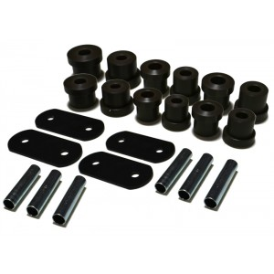 1968-1974 Nova StreetGRIP Delrin Leaf Spring Bushings - Set