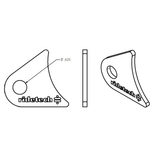 Small Axle Tab for Tri Link