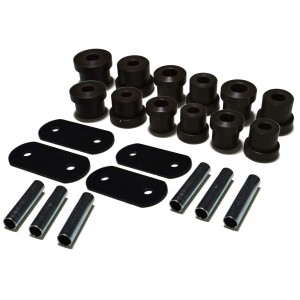 Delrin Leaf Spring Bushings - 1967-1969 Camaro Multi-Leaf - Set