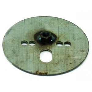 Airspring Pattern Plate w/7/16 Nut Centered