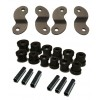 1955-1957 Chevy StreetGRIP Delrin Leaf Spring Bushings and Shackles- Set