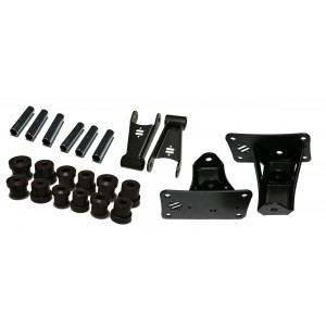 1973-1987 C10 StreetGRIP Shackle Kit w/Frame Mount