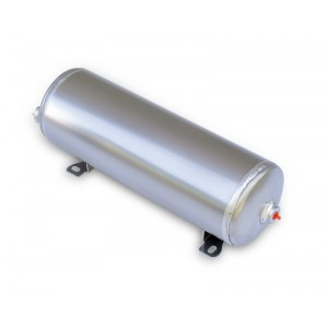 Air Tank- 2 Gallon Aluminum w/2- 1/4