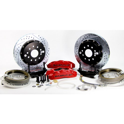 """Rear Baer Brake Systems for 9"""" Ford Rearend - General Fit"""