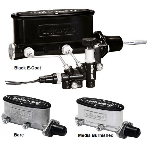 Wilwood Tandem Aluminum Master Cylinder with Proportioning Valve