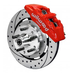 Wilwood Complete Dynapro/Dynalite Brake System for 1964-1966 Mustang w/ Ridetech Spindle