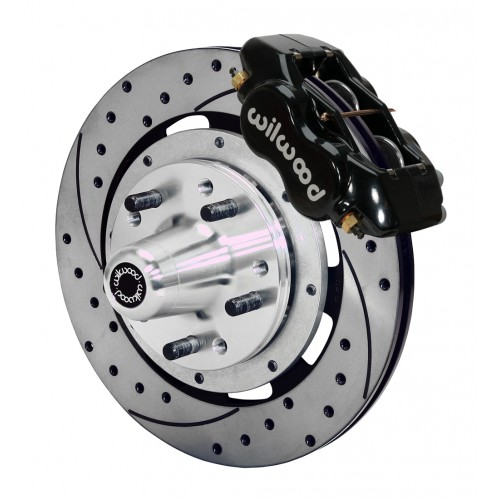 Wilwood Complete Dynalite Brake System for 1955-1957 Chevy Car (RideTech Spindle)
