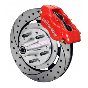 Wilwood Front Dynalite Brake System for 1955-1957 Chevy Car (RideTech Spindle)