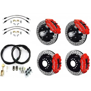 Wilwood Complete Superlite Brake System for GM A/F/X Body Cars