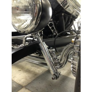 "Polished ""Hot Rod Shock"" -  7.9"" - 11.2"""