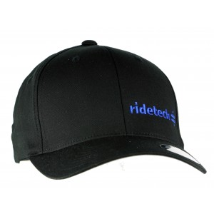 RideTech Flexfit Hat - Black/Blue