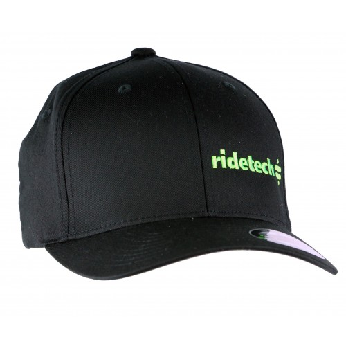 RideTech Flexfit Hat - Black/Lime