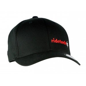 RideTech Flexfit Hat - Black/Red