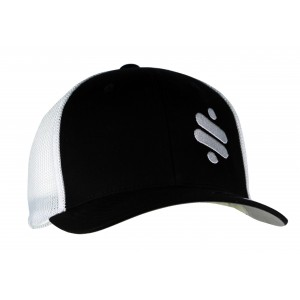 RideTech Flexfit Hat Mesh - Black/White