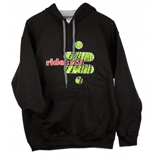 Ridetech Tire Track Hoodie Green/ Black