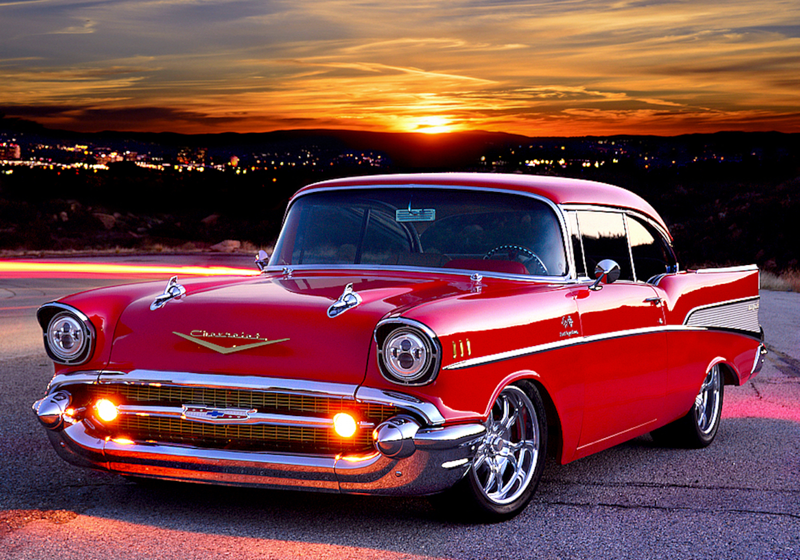 1957 Chevrolet Bel Air Lowered