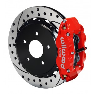 Wilwood Rear Superlite 4R Brake System for 1997-2013 Corvette