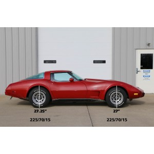 1968-1979 C3 Corvette StreetGrip suspension System