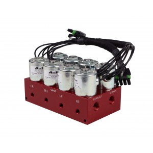 4-Way Big Red Air valve (Fittings not included)