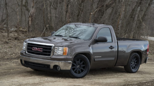 Lowered-Suspension-GMC-Sierra