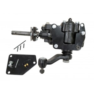 Borgeson 1963-1966 C10 Street & Performance Quick Ratio Power Steering Box, 12.7:1 Ratio