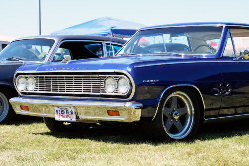 Chevelle Malibu SS AirRide Ridetech stance american racing muscle car